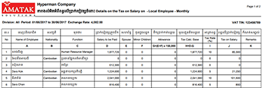 Income (Salary) Tax Attached Document